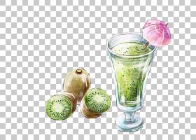 果汁背景,食物,喝酒,超级食品,非酒精饮料,猕猴桃,罐头,绘画,猕猴