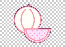 水果和蔬菜图标西瓜图标,符号,洋红色,圆,灯光,粉红色,西瓜图标,