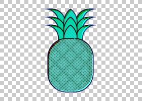 水果和蔬菜图标食品和餐馆图标菠萝图标,植物,水,水果,绿色,绿松