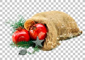 卡通圣诞节,超级食品,天然食品,食物,螺母,黄麻,圣诞装饰品,圣诞图片