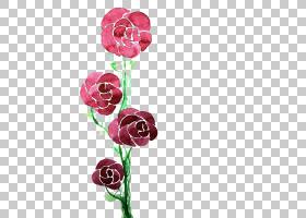 红色水彩花,红色,花卉,花束,洋红色,插花,切花,人造花,花卉设计,图片