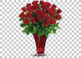 背景家庭日,红色,插花,切花,人造花,花盆,玫瑰秩序,玫瑰家族,花园
