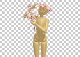 花冠,干线,人体模型,雕像,关节,肩部,绘图,Kagamine Rinlen,头饰,图片