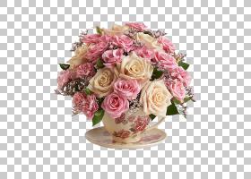 粉红色花卉背景,花瓶,中心件,插花,切花,蔷薇,花卉设计,花瓣,玫瑰