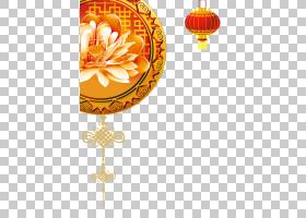 春节红包,黄色,照明,花,橙色,元旦,海报,中国传统节日,贺卡,FU,红