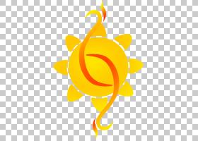 花符号,水果,花,橙色,黄色,绘图,书写系统,符号,意义,