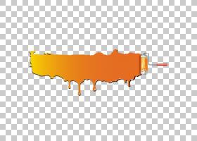 绘制画笔动画,矩形,线路,徽标,橙色,黄色,文本,油画漆,铲子,绘图,