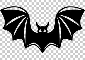 节日背景,黑白相间,徽标,黑色,符号,CDR,蝙蝠节,机翼,吸血蝙蝠,蝙