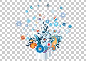 花线艺术,花瓣,分支机构,圆,线路,树,植物区系,鲜花,蓝色,徽标,成