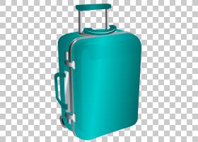 旅行蓝色背景,绿色,电蓝,蓝色,手提行李,包标签,新秀丽,背包,手提