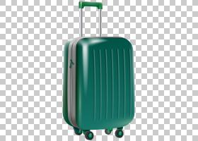 旅行蓝色背景,绿色,行李袋,电蓝,航空公司,新秀丽,背包,手提行李,