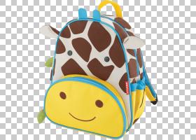 背包卡通,口吻,长颈鹿,玩具,长颈鹿,黄色,皮带,男孩,婴儿,蹒跚学