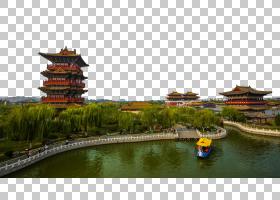 中国龙,中国建筑,室外结构,宝塔,休闲,中国,开封,清明节,夏朝,旅