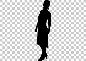 黑色剪影,颈部,人,着装,肩部,男性,黑白,关节,站立,黑色,女性,肖