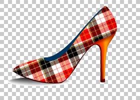三月八日妇女节,高跟鞋,格子呢,碱性泵,鞋类,户外鞋,Cicekseposit