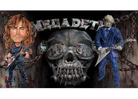 音乐,Megadeth,带,(音乐),沉重的,金属,壁纸,
