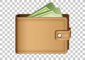 金钱卡通,棕色,自由小程序,钱,皮革,硬币,加密货币钱包,硬币钱包,