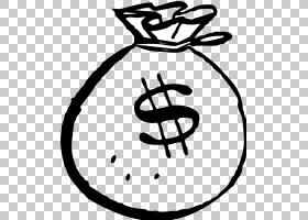 金元符号,黑白,线路,圆,符号,文本,面积,娱乐,线条艺术,黄金,美元