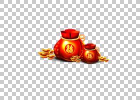 春橙,橙色,创造性工作,中国传统节日,新年,剪纸,FU,Fukubukuro,中