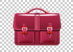 人物卡通,红色,洋红色,手提包,矩形,包,皮带,手提行李,皮革,行李,