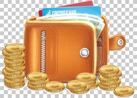 信用卡,现金,保存,钞票,金融,银行,手提包,信用卡,黄金,钱,金币,
