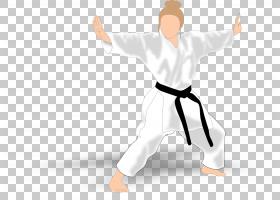 跆拳道卡通,手臂,手,白色,专业,体育,日本武术,关节,空手道,统一,