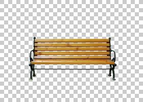 公园卡通,线路,角度,户外长凳,家具,椅子,公园,长凳,
