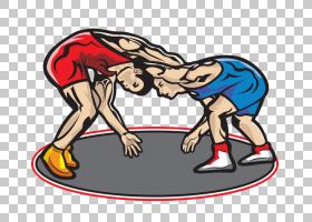 摔跤关节,体育器材,体育,关节,自由式摔跤,线条艺术,武术,绘图,职