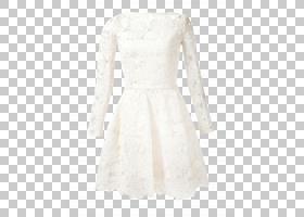 卡通婚礼,花边,日装,新娘服装,新娘礼服,套筒,白色,颈部,党,婚礼,