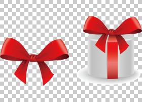 红色背景功能区,花,红色,礼物,色带,