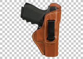 格洛克背景,皮革,皮带,枪,远程武器,棕色,手枪枪套,枪械附件,格洛
