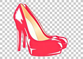 鞋子卡通,新娘鞋,庭院鞋,系带鞋,碱性泵,红色,高跟鞋,时尚,运动鞋