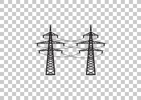 高压角,线路,黑白相间,黑色,符号,对称性,角度,动画片,结构,电线,