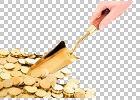 钱币卡通,商品,风味,个人理财,节省开支,定期存款,铲子,股票市场,