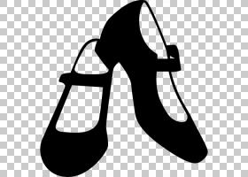 舞鞋,风格,黑白相间,高跟鞋,鞋类,芭蕾舞剧,芭蕾舞鞋,弗拉门戈,弗
