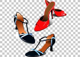 女性卡通,高跟鞋,橙色,户外鞋,反转,服装,庭院鞋,细高跟鞋,女人,
