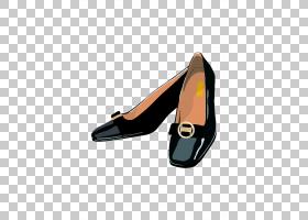 女性卡通,高跟鞋,面包车,鞋类,女人,鞋带,礼服鞋,高跟鞋,鞋子,