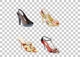女性卡通,高跟鞋,鞋类,户外鞋,绘图,脚跟,时尚,庭院鞋,女人,鞋子,