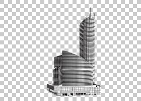 建筑卡通,塔楼,线路,公司总部,高程,商业建筑,角度,塔楼,大都市,