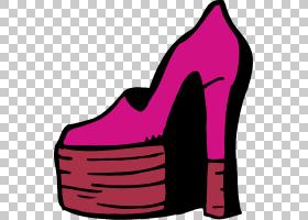 粉色背景,高跟鞋,洋红色,鞋类,户外鞋,步行鞋,线路,紫色,凉鞋,运