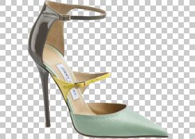 奢华背景,高跟鞋,碱性泵,鞋类,户外鞋,米色,克里斯蒂安・鲁布托,