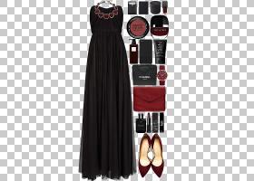 奢华背景,黑色,日间连衣裙,肩部,女人,正式着装,服装,奢侈品,时尚