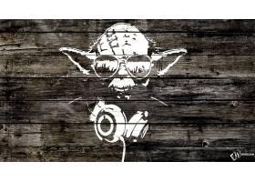 音乐,艺术的,Yoda,壁纸,