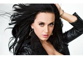 音乐,凯蒂,梨酒,歌手,妇女,黑发女人,蓝色,眼睛,歌手,皮革,壁纸,