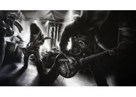 音乐,沉重的,金属,壁纸,(20)