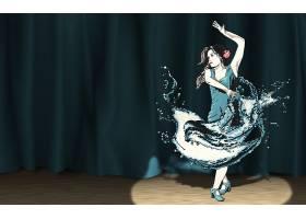 音乐,跳舞,妇女,舞蹈,艺术的,人,壁纸,