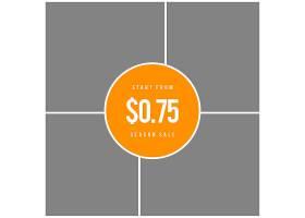 橙色创意电商产品展示拼图banner背景