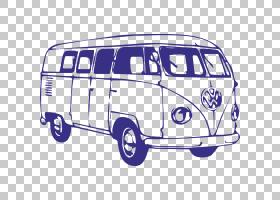 巴士卡通,紧凑型轿车,老爷车,车辆,公交车,露营车,露营车,大众运