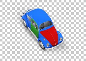 汽车卡通,电蓝,技术,车辆,黄色,游戏车,模型车,紧凑型轿车,蓝色,
