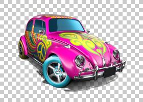 火热的车轮,紧凑型轿车,游戏车,模型车,硬件,技术,紫色,大众运输